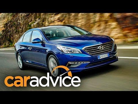 Hyundai Sonata Review 2015 - CarAdvice