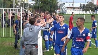 preview picture of video 'II. liga / MŠKRimavskáSobota - MFK Lokomotíva Zvolen 1:1 (1:0)'