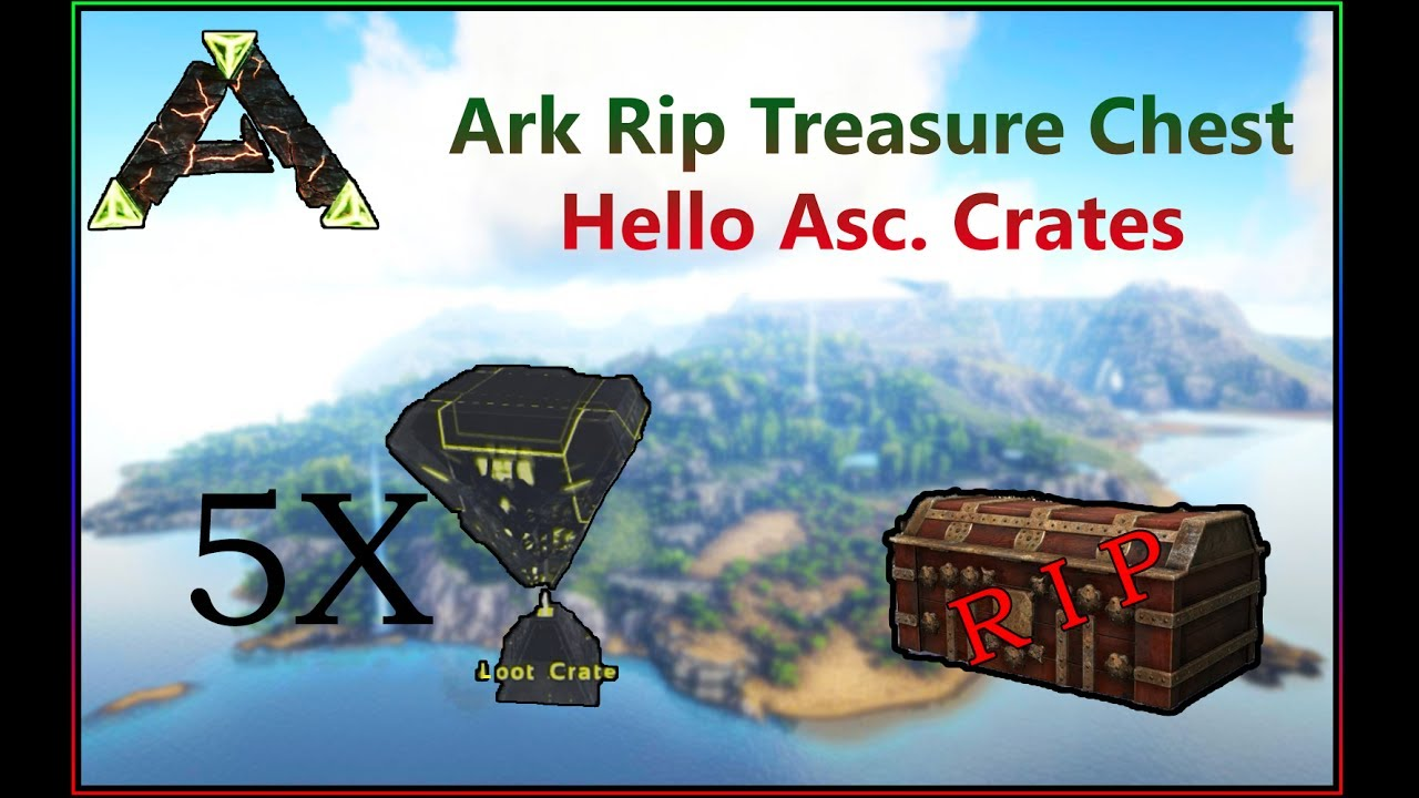 how to find deep sea loot crates in ark