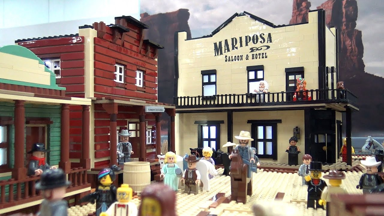 LEGO Sweetwater Western Town from Westworld | Bricks Cascade 2019