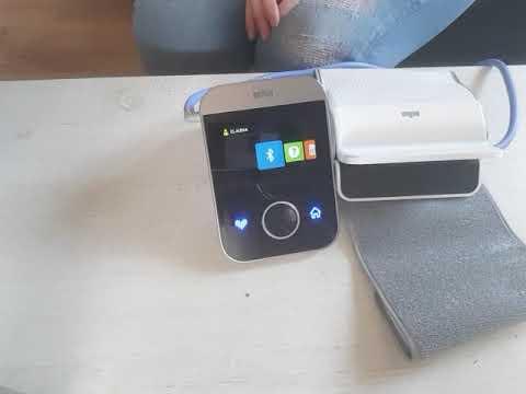 Braun ActivScan 9 Oberarm-Blutdruckmessgerät mit Farbdisplay