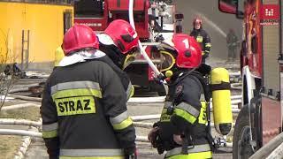 #Wrocław: Ul. Opolska, #pożar. Płonie Magazyn Z Oponami. Wideo Z Drona