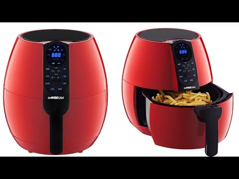 GoWISE - 3.7 Quart Air Fryer With 8-Cook Presets - Red Review