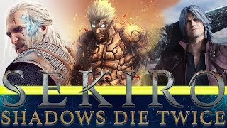 Sekiro Shadows Die Twice mods - Dante from DMC and  Geralt from the witcher and Asura from Asura's Wrath