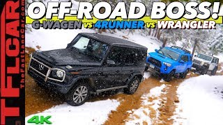 THIS Is The BEST Off-Roader You Can Buy! G-Wagon vs 4Runner vs Wrangler | TFLori S.1 EP.1