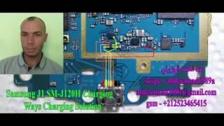 مسارات الشحن Samsung J1 J120H Charging Ways  Solution