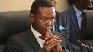 Governor Alfred Mutua reminds the DCI and DPP about the bygone dam