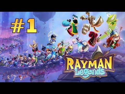 Прохождение Rayman Legends - Спасай Луговину! #1
