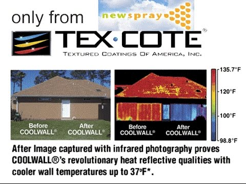 Newspray Lifetime Home Paint Review - Texas Home Improvement - Tex Cote Cool Wall