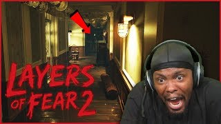 I Didn't Think The Game Would Get THIS Scary! - Layers Of Fear 2 (Ep.2)