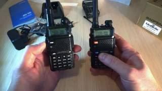 Портативная рация Baofeng DM-5R V3 від компанії CyberTech - відео