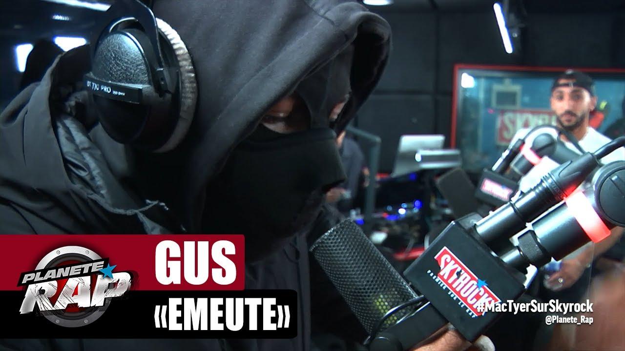"""[EXCLU] Gus """"Émeute"""" #PlanèteRap"""