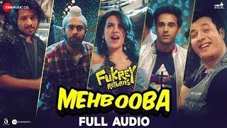 Mehbooba - Full Audio | Fukrey Returns | Prem   - YouTube