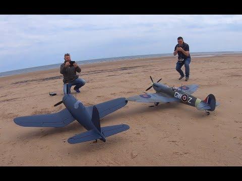 corsair-2nd-flight-with-spitfire