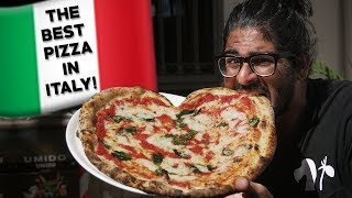 BEST PIZZA IN ITALY! - Finding the best Pizza in Naples, Italy! 🇮🇹 🍕