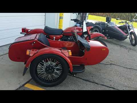 2018 Ural cT Sidecar Motorcycle