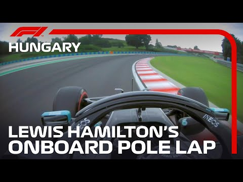 F1 2020 第3戦ハンガリーGP 予選ポールポジションのルイス・ハミルトンのオンボード映像