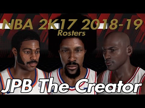NBA 2K19 Rosters On NBA 2K17 Tutorial - смотреть онлайн на