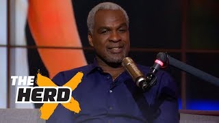 Charles Oakley on Michael Jordan vs LeBron James, BIG3, James Dolan | THE HERD (FULL INTERVIEW) - Video Youtube