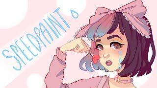 Melanie Martinez [Speedpaint] - Paint tool SAI