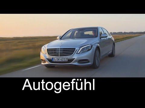 Mercedes S-Class S500 Plugin Hybrid S-Klasse exterior driving interior - Autogefühl