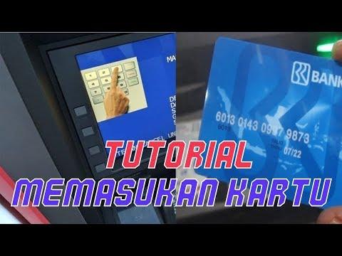 Cara Memasukan Kartu ATM yang Benar dan Baik