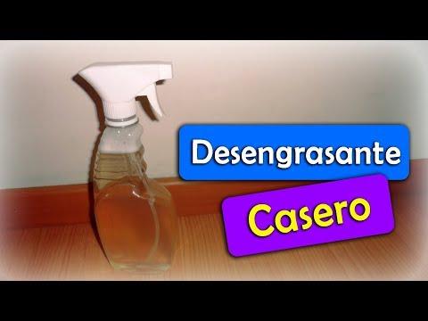 Desengrasante Casero