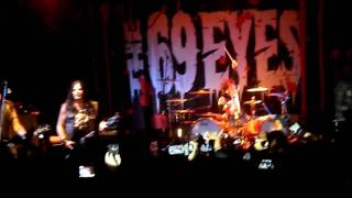 Don't turn your back on fear, The 69 Eyes, live in Mexico City 2010