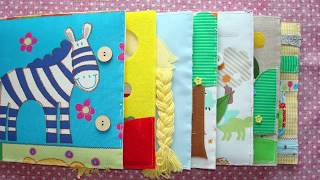 Quiet Book Binding Tutorial Part ONE: Preparing Pages