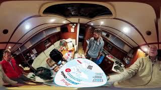 TENERIFE 360 VIDEO: Закупка продуктов для похода на яхте