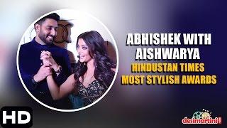 Abhishek Bachchan With Aishwarya Bachchan | Hindustan Times Most Stylish Awards, Delhi | 2016