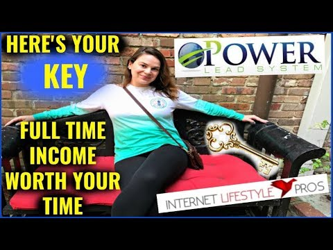 Make Money Online For Beginners – Power Lead System & Internet Lifestyle Pros = FULL TIME INCOME