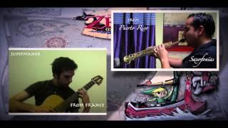 Thème d'Arielle à la guitare et au saxophone