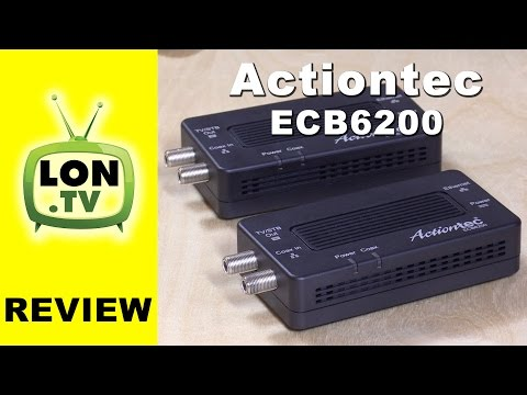 Actiontec ECB6200K02 Bonded MOCA 2.0 Review – Extend a network with cable TV wires!