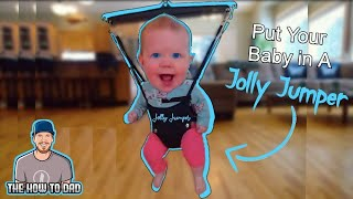 How to Put a Baby in Jolly Jumper Baby Bouncer - Jolly Jumper instructions - Jolly Jumper Door Clamp