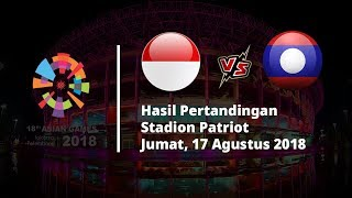 Hasil Pertandingan Indonesia Vs Laos Asian Games: Indonesia Unggul 3 Gol