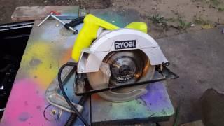 Ryobi 7 14 circular saw with laser ryobi circular saw review greentooth Image collections