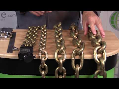 Enfield Security Through Hardened Chain |  LocksOnline Product Review