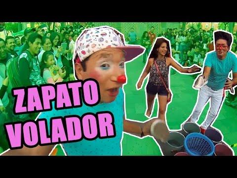 LOS DESTRAMPADOS JUEGAN AL SUBMARINO DE ZAPATO - Juegos para niños