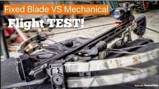 MOST LETHAL Crossbow Broadhead! || Fixed Blade VS Mechanical || CenterPoint Sniper 370!