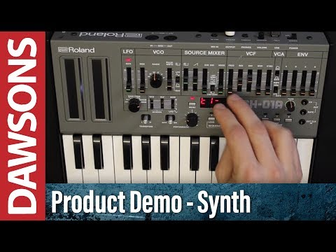 Roland SH-01A Synthesizer Review