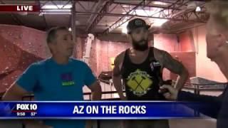 Cory checks out AZ on the Rocks