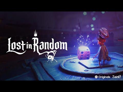 Teaser de gameplay de Lost in Random
