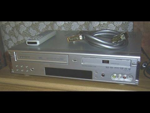 Daewoo DF-7100 DVD/VCR Kombi ,DVD Recorder VCR Recorder , Videorecorder