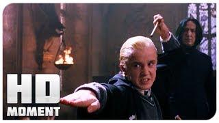 Дуэль Гарри и Малфой - Гарри Поттер и тайная комната (2002) - Момент из фильма
