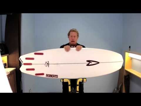 Wave Tribe Surfboard Review – Roberts 3DF