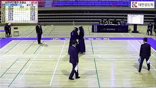 제25회 춘계 전국실업검도대회 남자부단체전 준결승 인천시청, 달서구청