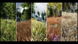 Skyrim SE - Grass Mod: Northern Grass SE