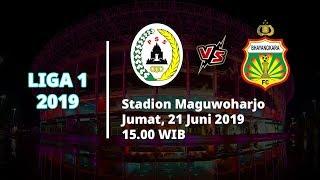 Jadwal Pertandingan dan Siaran Langsung Liga 1 2019, PSS Sleman vs Bhayangkara FC, Jumat (21/6)