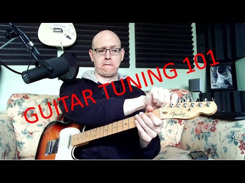Learn how to tune the guitar with ease!